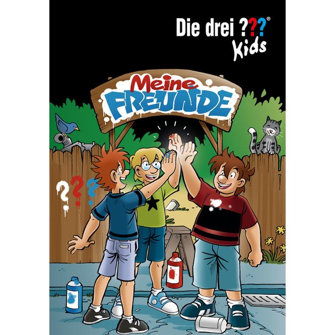 Die drei ??? Kids - Meine Freunde - Freundebuch