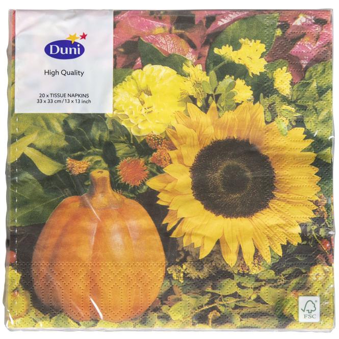 20 Servietten - Herbst - 33 x 33 cm