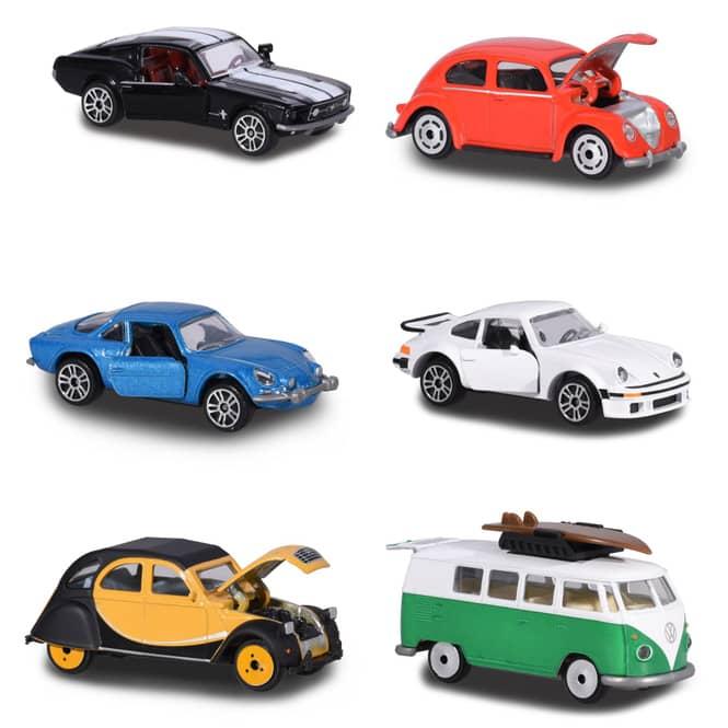 Majorette - Vintage Fahrzeuge - je ca. 7,5 cm - verschiedene Modelle - 1 Stück