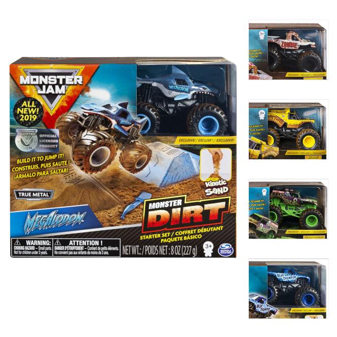 Monster Jam - Monster Dirt - Starter Set