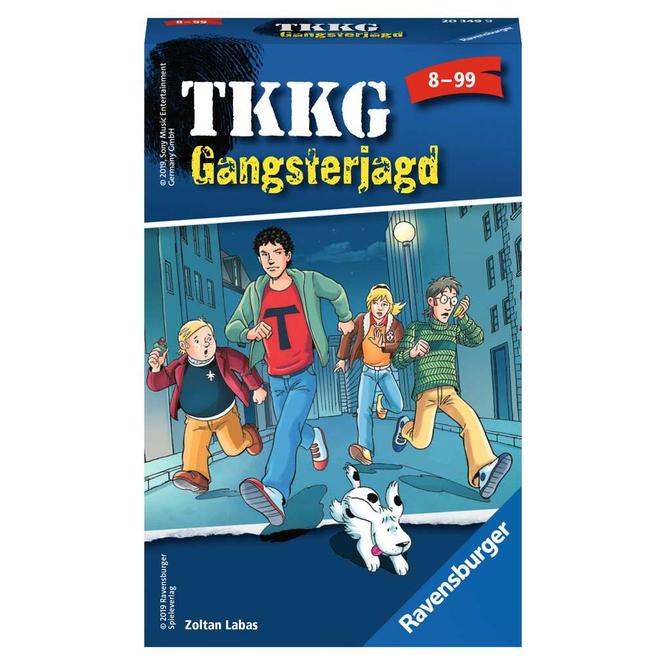 TKKG Gangsterjagd - Mitbringspiel