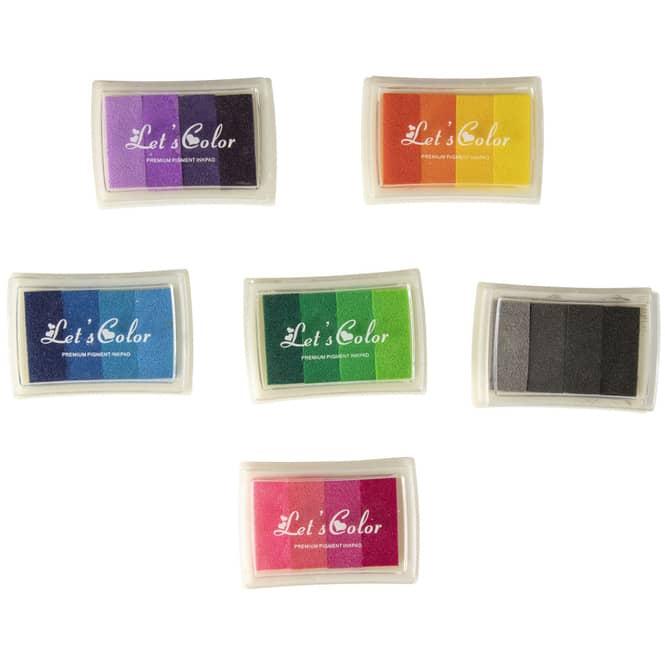 Stempelkissen - Regenbogen - 1 Stück