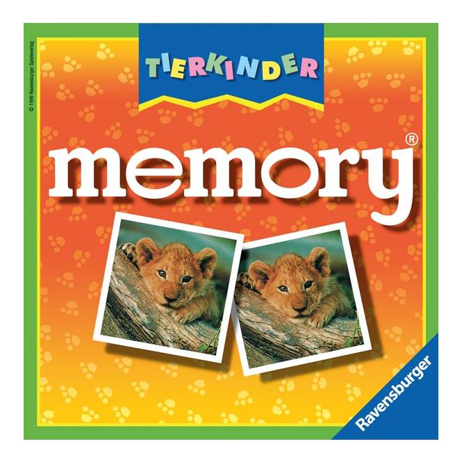 Tierkinder Memory Ravensburger