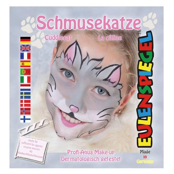 Schminkset - Schmusekatze - Make-up mit Zubehör