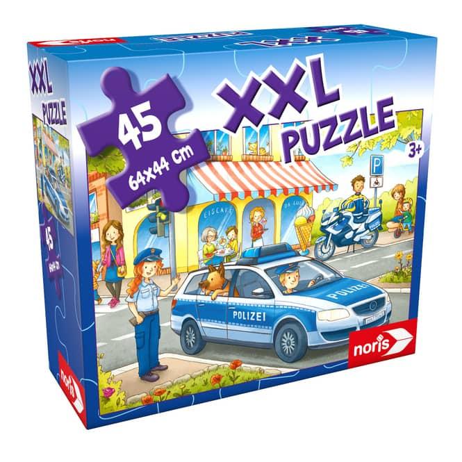 Bodenpuzzle - Auf Streife mit der Polizei