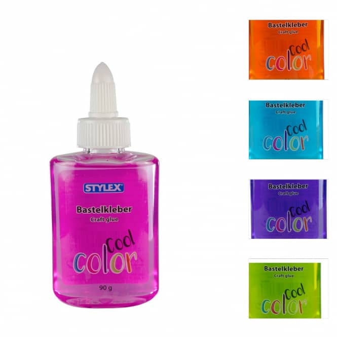 Bastelkleber Cool Color - 90g - 1 Stück