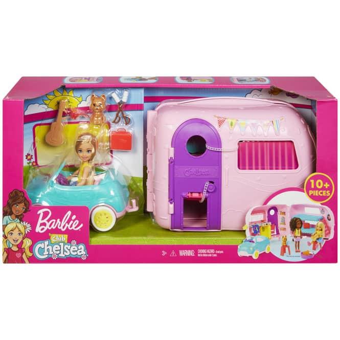 Barbie - Chelsea Camper - Spielset mit Zubehör