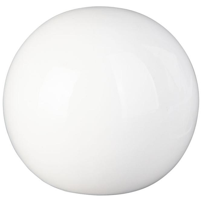 Dekokugel - aus Dolomit - Ø = 7,5 cm - weiß