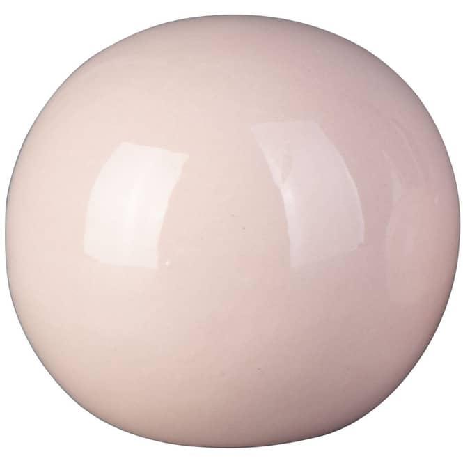 Dekokugel - aus Dolomit - Ø = 9,5 cm - rosa