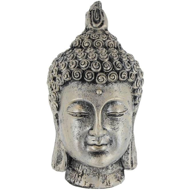 Buddha - aus Magnesia - 18 x 18 x 35 cm