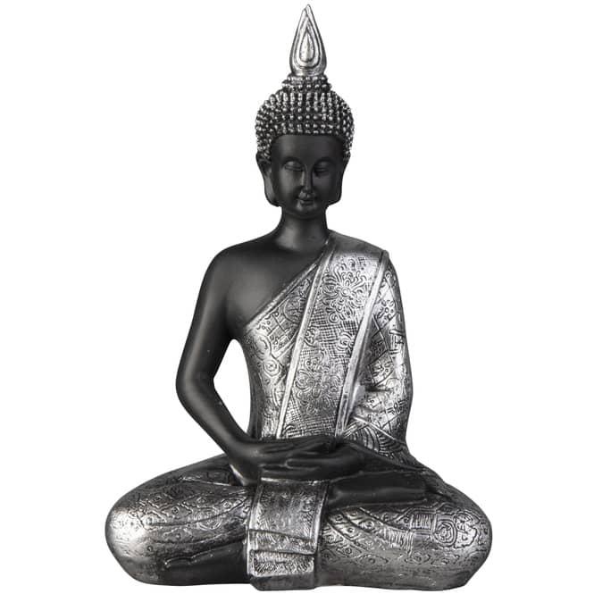 Buddha - aus Polyresin - 14 x 8,5 x 20,5 cm