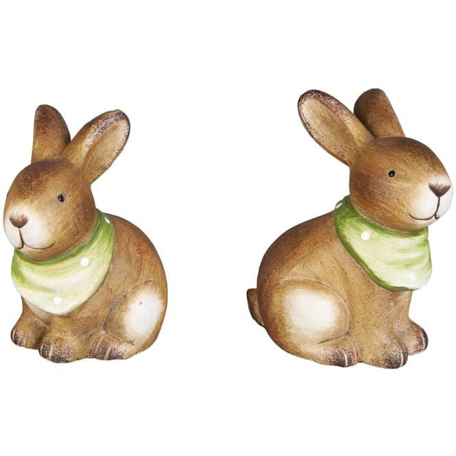 Dekohase - aus Terrakotta - 8 x 10 x 12,5 cm - 1 Stück