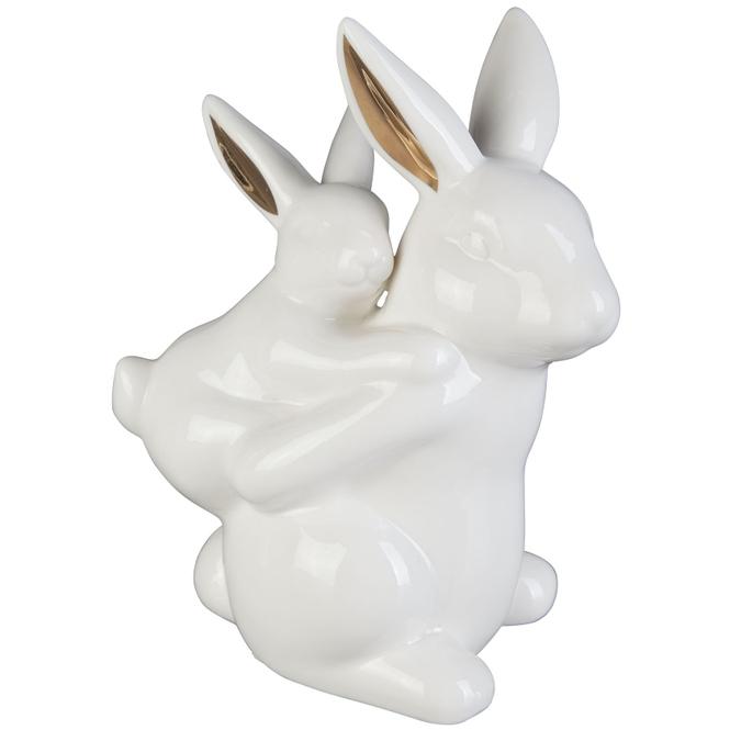 Dekohasen - aus Keramik - 12,5 x 9 x 16,5 cm