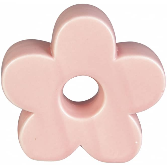 Dekoblume - aus Keramik - 9 x 3 x 8,5 cm - rosa