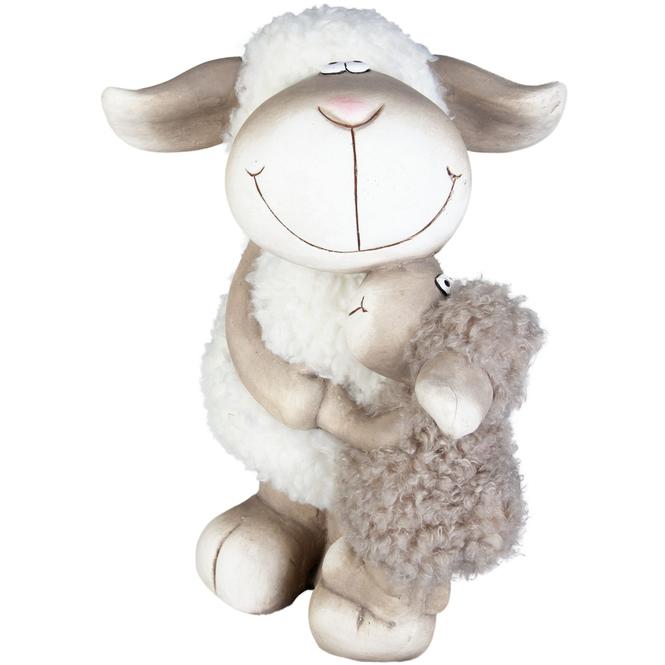 Schafe - aus Magnesia - 29,5 x 29 x 40 cm