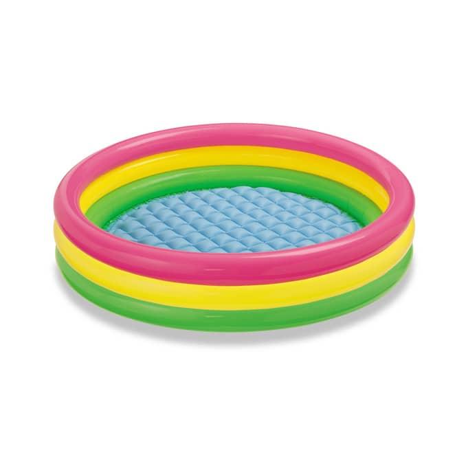 Intex - 3-Ring Baby Pool - Sunset Glow - Ø ca. 90 cm