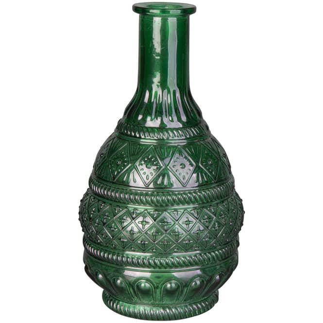 Vase - aus Glas - 11 x 22 cm