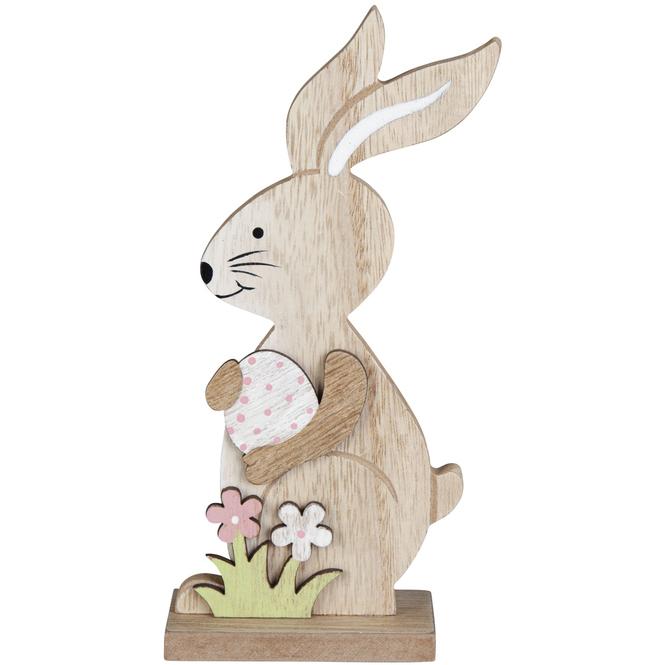 Dekohase - aus Holz - 8 x 4 x 18,5 cm