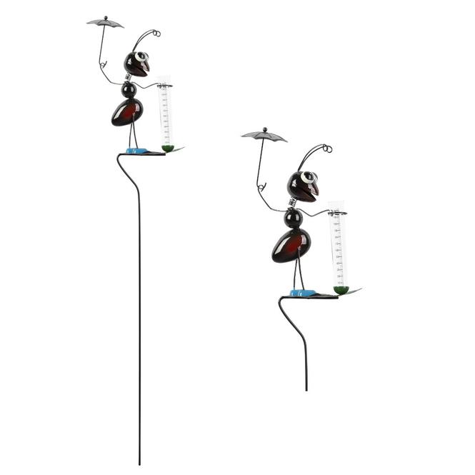 Pflanzenstecker - Ameise - 14 x 86,5 cm