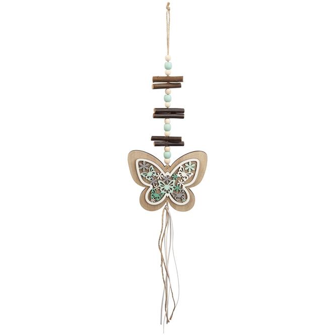 Dekohänger - Schmetterling - aus Holz - 13 x 10 x 52 cm