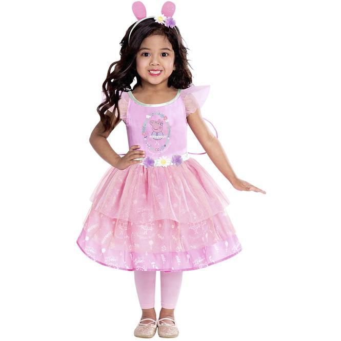 Kostüm - Peppa Wutz - für Kinder - 3-teilig - verschiedene Größen