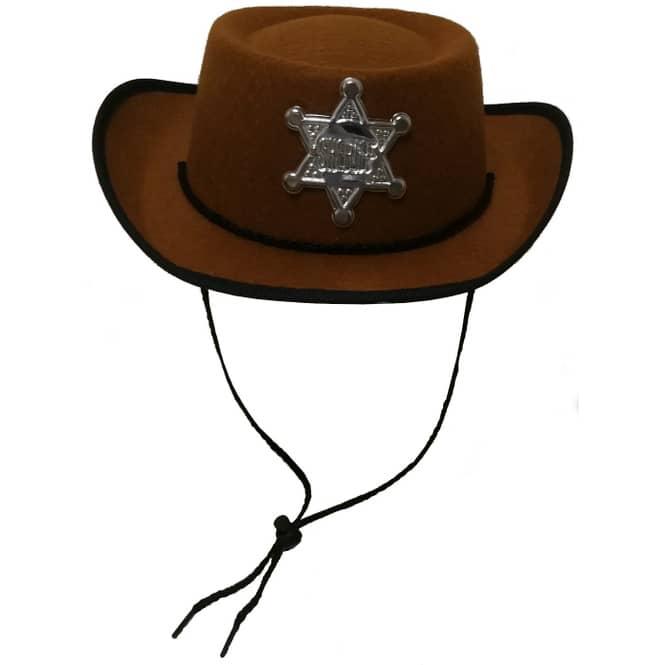 Cowboyhut - Sheriff - für Kinder