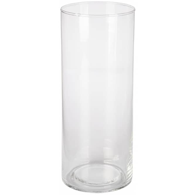 Vase - aus Glas - ca. 10 x 25 cm