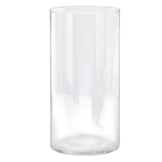 Vase - aus Glas - ca. 10 x 20 cm