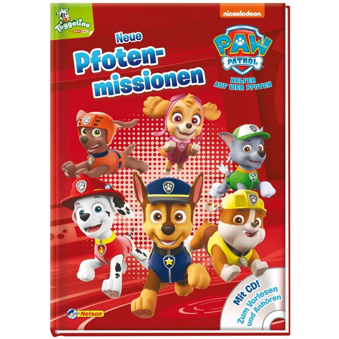 PAW Patrol - Neue Pfotenmissionen - Hardcoverbuch mit CD