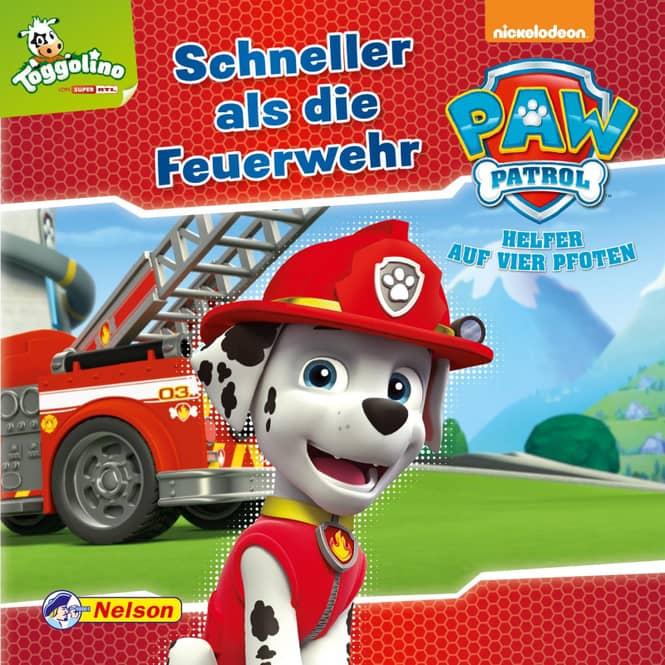 Maxi-Mini 9 - PAW Patrol Schneller als die Feuerwehr - Softcover