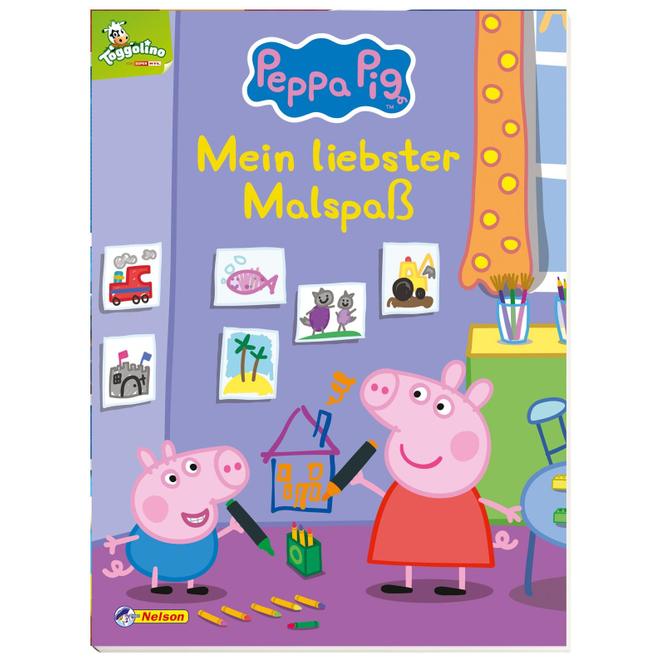 Peppa Wutz - Mein liebster Malspaß - Softcover