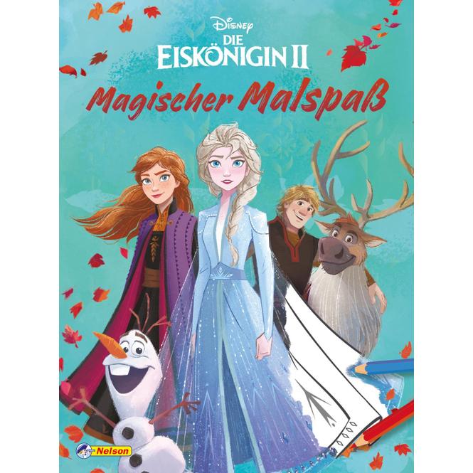 Disney - Die Eiskönigin 2 - Magischer Malspaß - Softcover