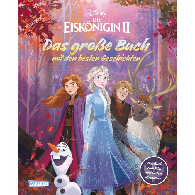 Disney - Die Eiskönigin 2 - Das große Buch mit den besten Geschichten - Hardcover