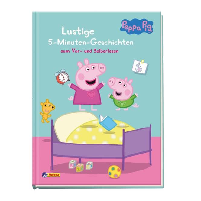 Peppa Wutz - Lustige 5-Minuten-Geschichten - Hardcover