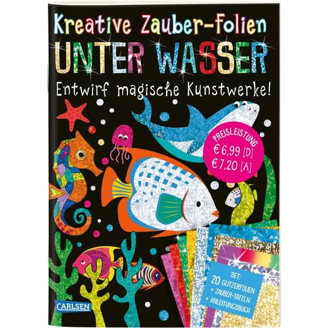 Kreative Zauber-Folien - Unter Wasser - Entwirf magische Kunstwerke!