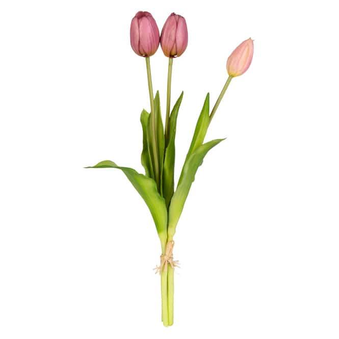 Tulpenbündel - ca. 39 cm - rosa