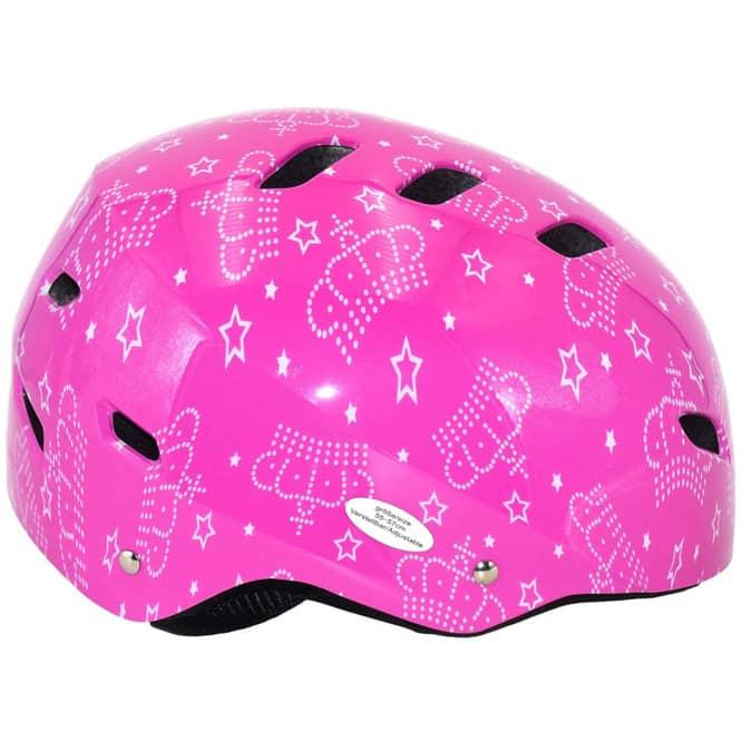 Skatehelm - pink