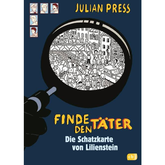 Finde den Täter - Die Schatzkarte von Lilienstein - Band 8
