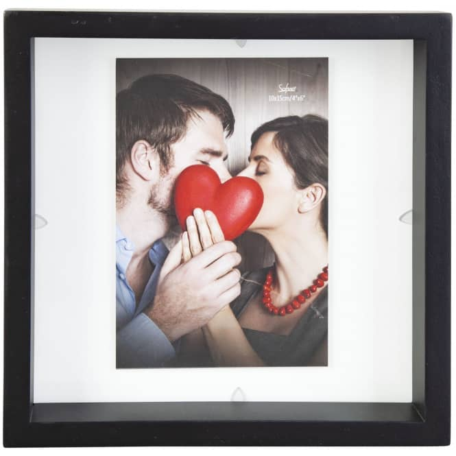 Bilderrahmen - aus Holz - 20 x 3,5 x 20 cm