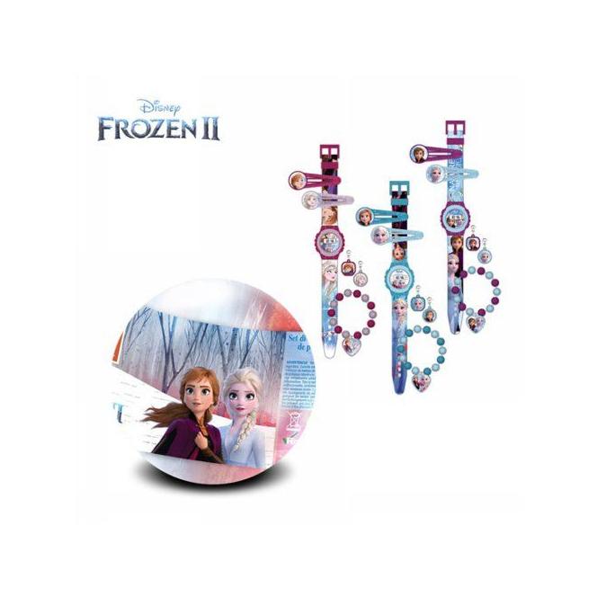 Die Eiskönigin 2 - Schmuckset mit Armbanduhr - 1 Stück