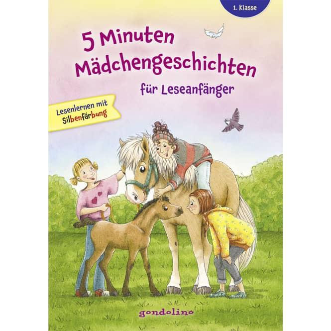 5 Minuten Mädchengeschichten für Leseanfänger