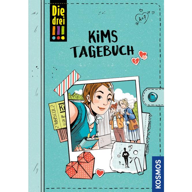 Die drei !!! - Kims Tagebuch - Taschenbuch