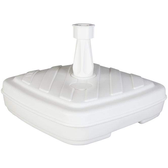 Sonnenschirmständer - geeignet für Ø = 1,8 bis 3,2 cm - weiß