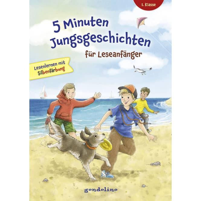 5 Minuten Jungsgeschichten für Leseanfänger