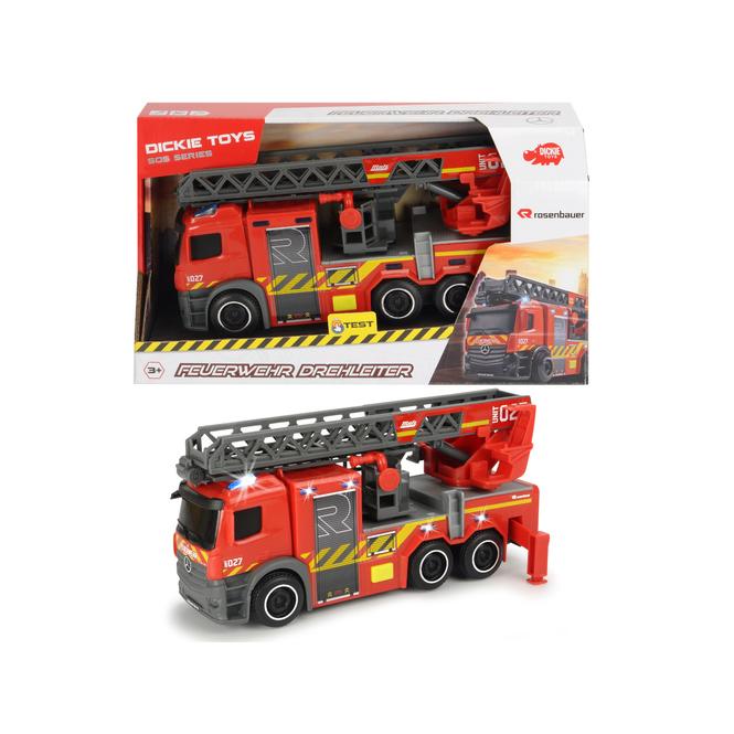 Feuerwehrfahrzeug mit Licht und Sound - ca. 23 cm