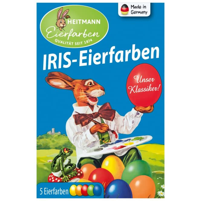 IRIS-Eierfarben - 5 Färbetabletten
