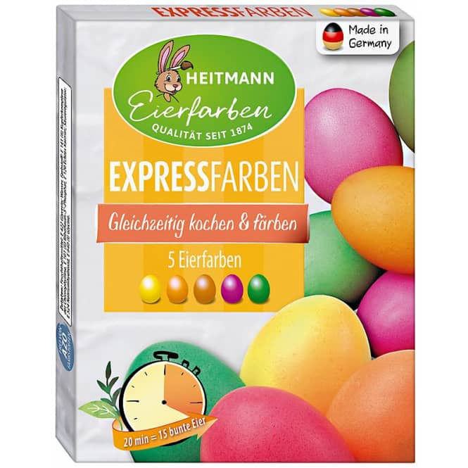 Express-Eierfarben - 5 Stück