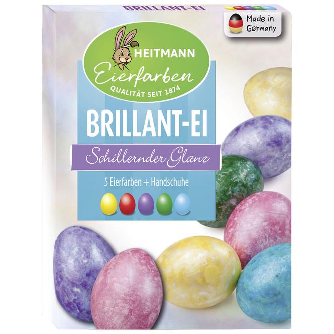 Brillant-Eierfarben - 5 Stück