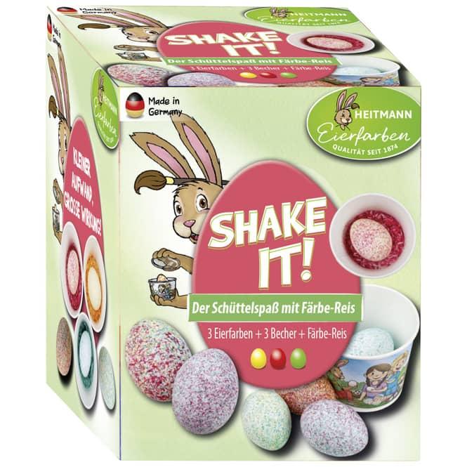 Shake it! - Eierfarben - 6-teilig