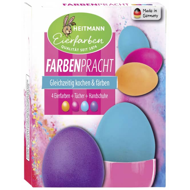 Farbenpracht - Eiermalfarben - 4 Stück